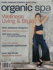 Organic Spa Magazine Oct 2016 Wellness Living & Style Health FREE SHIPPING sb