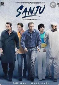 Sanju Bollywood HD Hindi MOVIE DVD With English Subtitles Play All Region