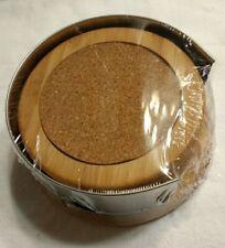 Bamboo Coaster Set of 4 Coasters Table Protector Barware Gift Idea Better Homes