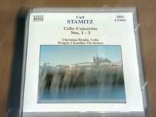 Stamitz - Cello Concertos 1 - 3 - Benda - Prague  (CD)