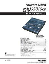 Yamaha EMX5016CF Mixer Service Manual and Repair Guide