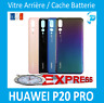 Vitre arrière Huawei P20 Pro Noir/Bleu/Twilight(Aurora)/Rose Avec Logo + Adhesif