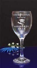 Congratulazioni hai girato!. laureato incisa vino bicchiere/regalo/regalo 79