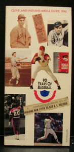 1990 Cleveland Indians Official Media Press Guide, 262 Pages of Facts & Fun!
