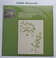 OLS 182 - BACH - Quintets / Sonatas COLLEGIUM PRO ARTE - Excellent Con LP Record