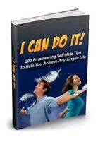 I can do it + 10 Free eBooks With Resell rights ( PDF ) ebook