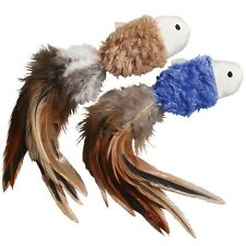 Kong Naturals Crinkle Fish With Feathers with Catnip