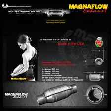 Mf Magnaflow Acciaio Inox Catalizzatore Metallico 200 Celle 63,5mm/2.5 Pollici