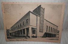 VOGHERA CASA DEL FASCIO 1938 FASCISMO LIGURIA Vecchia foto cartolina fotografia