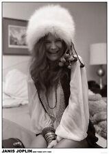 "Janis Joplin NEW 84cm x 60cm (34"" x 24"") b/w POSTER"