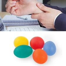 Gel Egg Stress Ball Hand Exercise Finger Relax Squeeze Relief Adults Relaxing UK
