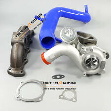 Cast manifold +Billet F21T Turbo +Silicone Hose Pipe FOR Audi A3 / VW /Seat 1.8T