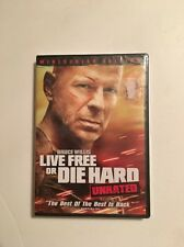 Live Free Or Die Hard UNRATED  New And Sealed