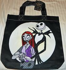 """NEW"" Tim Burton NIGHTMARE Before CHRISTMAS ~ JACK & SALLY ~ TOTE BAG 2-Sided"