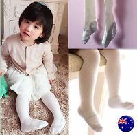 Girls Baby Kids Cotton Warm Ivory Pantyhose Tights Stocking 3-36m