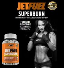 Jet Fuel Superburn GAT Sport 120 Caps HIGH IMPACT METABOLIC INTENSIFIER