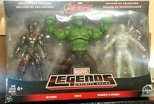 Marvel Legends Infinite Series Ultron, Hulk & Marvel's Vision Combo Pack NIB