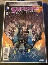 DC Comics Superman: American Alien #5! Rare Manapul Variant Cover - 1:25!