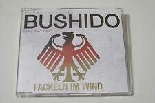 BUSHIDO FEAT KAY ONE - FACKELN IM WIND CD 2010 (2-TRACK MAXI)