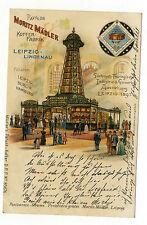 AK Leipzig 1897 Lindenau  Moritz Mädler Koffer Fabrik Industrie Ausstellung
