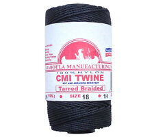 Catahoula No 18 Tarred Braided Bank Line 4 oz Spool 275 ft Nylon Twine
