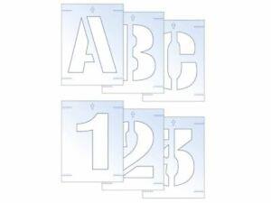 Scan - Letter & Number Stencil Kit 25mm