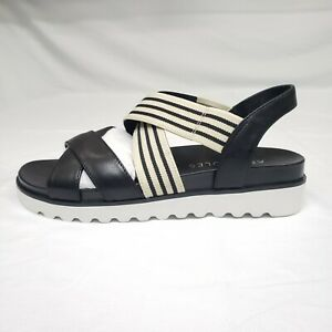 Aerosoles Women's Size 7M Kings Park Platform Sandal Black Combo