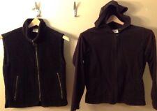 Women's Small Columbia Fleece Vest And Hoodie