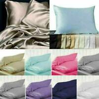 100% Mulberry Silk Pillow Case Slip Anti wrinkle Silk Pillowcase Bedroom Bedding