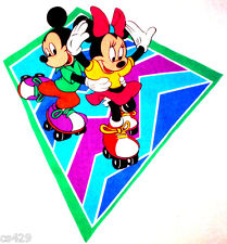 """18"""" DISNEY  MICKEY & MINNIE MOUSE  CHARACTER WALL SAFE FABRIC DECAL CUT OUT"""