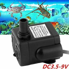 Dc3.5-9V 3W Brushless Dc Submersible Water Pump Usb Fountain Fish Tank Pump Lm