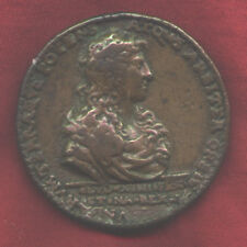 1667, medal Louis XIV and Canal Du Languedoc,52mm, cast,  very fine condition