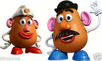 Walt Disney Pixar Toy Story Mr. & Mrs. POTATO HEAD - Window Art Stick-On Cling