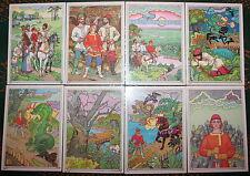 1986 16 Soviet Postcards FOLK FAIRY TALE ILL. by BELTYUKOV USSR Horse Dragon