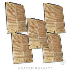 Conjunto completo de Nuevo Genuino Original Dualit de 4 rebanadas cuatro ranura Tostador De Pan elementos