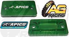 Apico Green Front Brake Master Cylinder Cover For Suzuki RMZ 450 05-13 MotoX MX