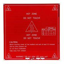 Geeetech Reprap PCB Heatbed MK2B Dual Power 12/24V Hotbed Hot Plate Prusa Mendel