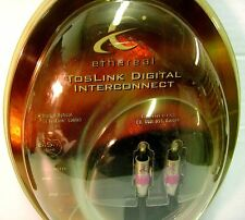 6.5' Ethereal T2 TosLink Digital Optical Interconnect - Gold Plated - NIB