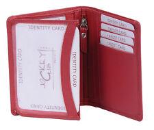 Ausweishülle KFZ Mappe Passhülle LEAS in Echt-Leder, rot