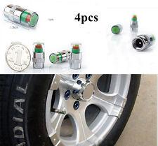 Useful 4X Car Auto Tyre Tire Pressure Monitor Valve Stem Caps Indicator 3 Color
