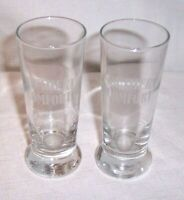 "LOT OF 2 SOUTHERN COMFORT 4 "" TALL WHISKY LIQUOR Shot Glass"