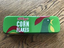 Brand New Metal Kellogg's Corn Flakes Cereal Pencil Tin