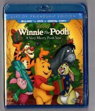 Winnie the Pooh - A Very Merry Pooh Year (Blu-ray/DVD, Digital Copy) NEW SEALED
