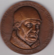JOLIE MEDAILLE LE BON ROY RENE-DUC D'ANJOU-COMTEDE PROVENCE 1409-1480
