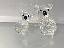 Swarovski Figuren Koala Bären Mutter & Kind Top Zustand !!