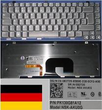 Keyboard Qwertz German DELL Alienware M14X NSK-AKU0G PK130G81A12 082T35 BACKLIT