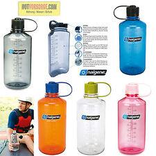 TRINKFLASCHE Wasserflasche Nalgene Narrow Enghals 1l Sportflasche DRINK BOTTLE