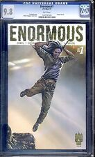 ENORMOUS #1 VOLUME 2  ( #7 )  REGULAR COVER CGC 9.8 WHITE PAGES