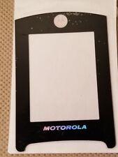 New Motorola OEM Inner Main Screen Glass Lens for RAZR2 V8 V9 V9M - BLACK