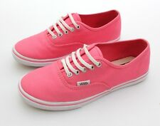 VANS Authentic Lo Pro Womens Girls Canvas Trainers Sneakers Pumps Lace Up - UK 4